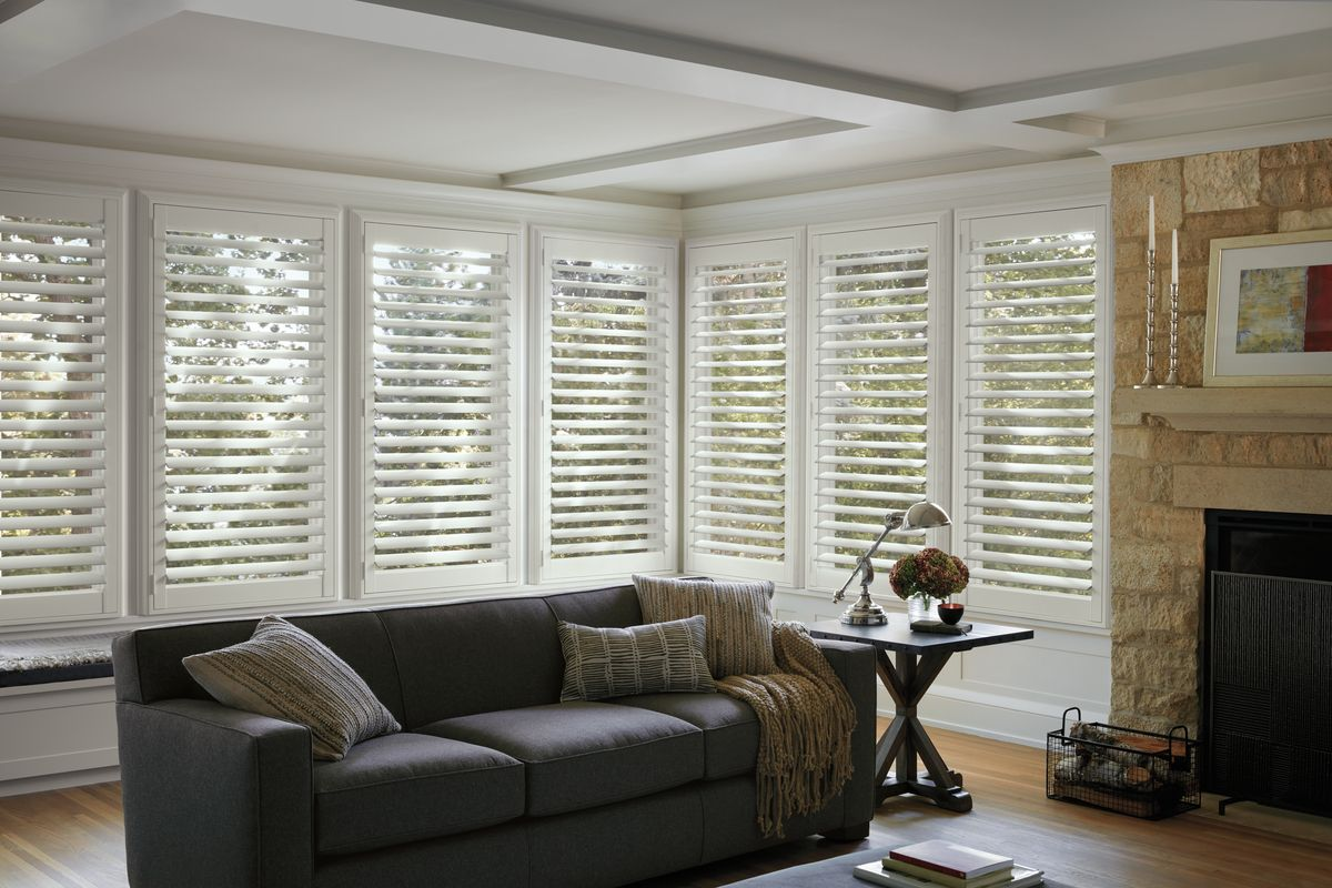 NewStyle® Hunter douglas shutters, Custom shutters