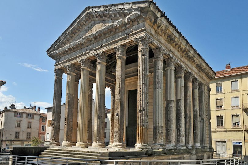10 Most Spectacular Ancient Roman Temples Ancient Roman Architecture Greek Temple Temple Architecture