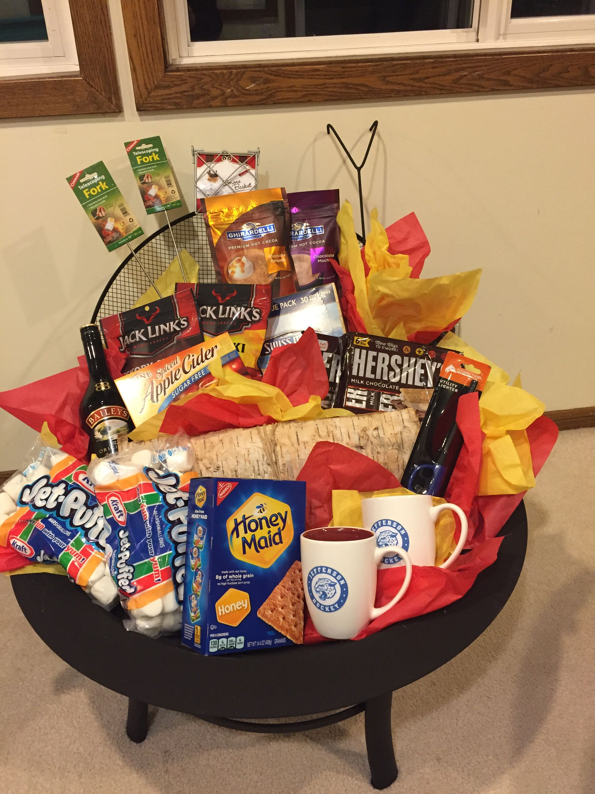 Fire Pit Donation Basket Super Easy To Emble