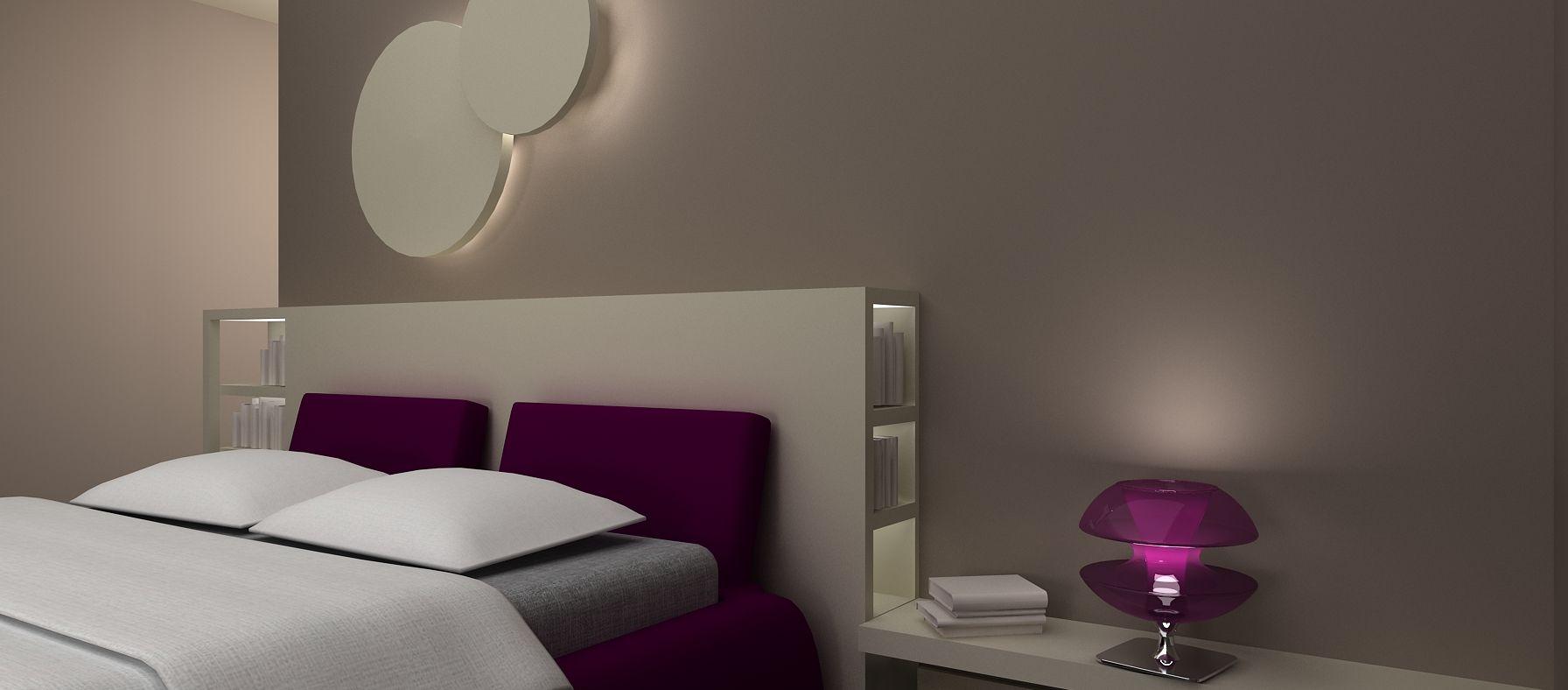 Portfolio lavori in cartongesso bedroom pinterest - Cartongesso in camera da letto ...