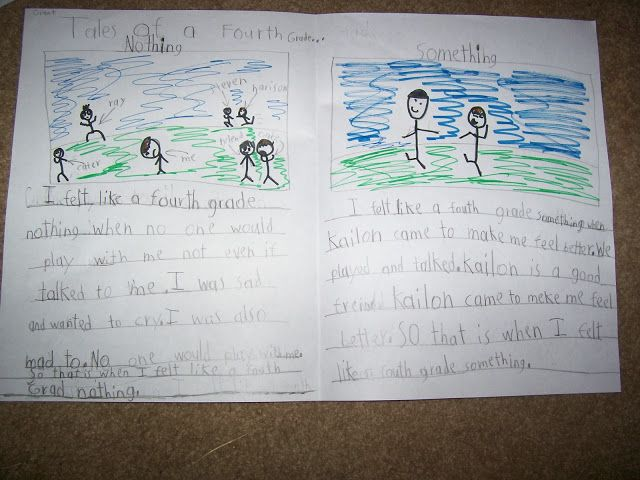 Tales Of A Fourth Grade Nothing Writing Activity ELA
