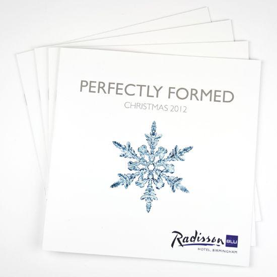 'Perfectly Formed' Radisson Hotel Christmas Marketing
