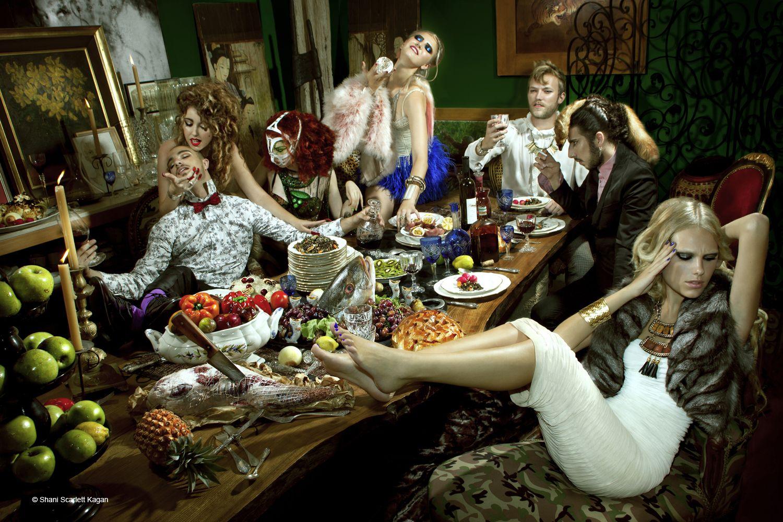 The Dinner Party | Styling: Rafael Art  Set design: Kevin Grandel de Keating  Photo: Shani Scarlett Kagan