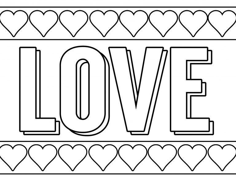 Free Printable Valentine Coloring Pages Printable Valentines