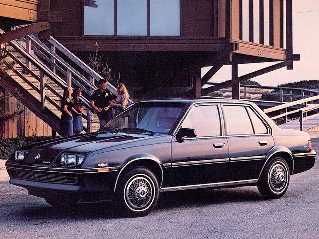 1985 buick skyhawk blue