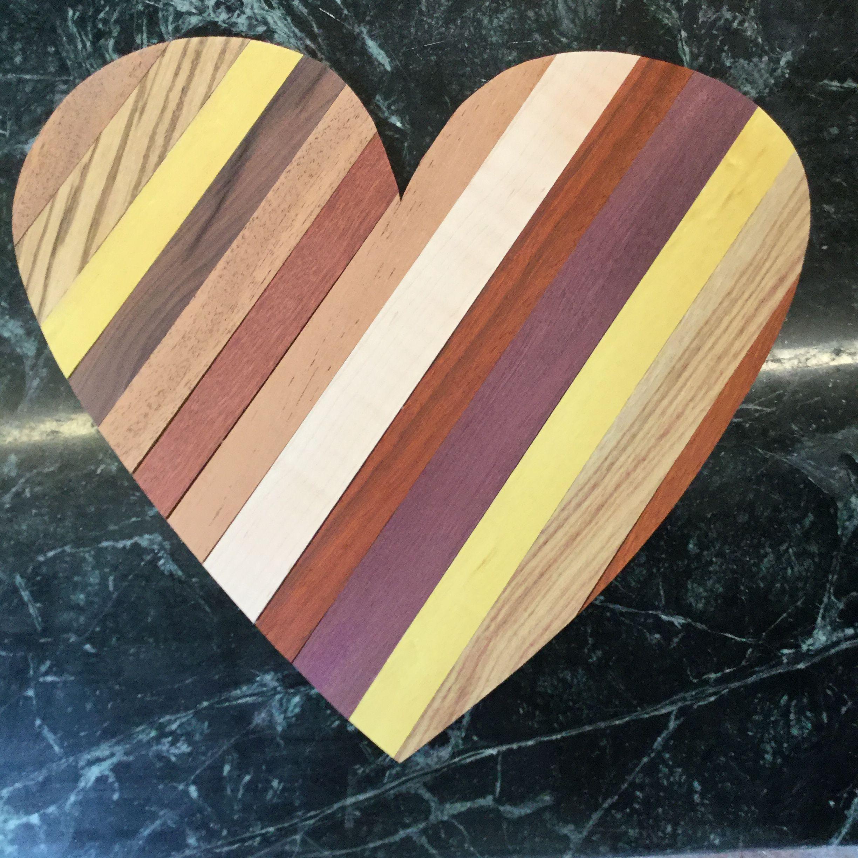 Hard wood strips with a birch backer board wood strips