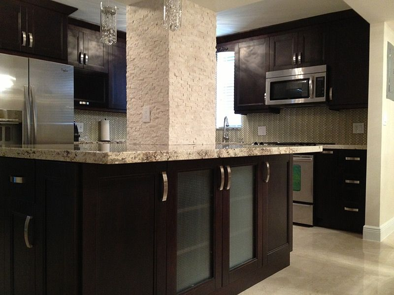 31 Breathaking Espresso Kitchen Cabinets Pictures : Kitchen Interior Luxury  Small Espresso Kitchen Cabinets With Granite