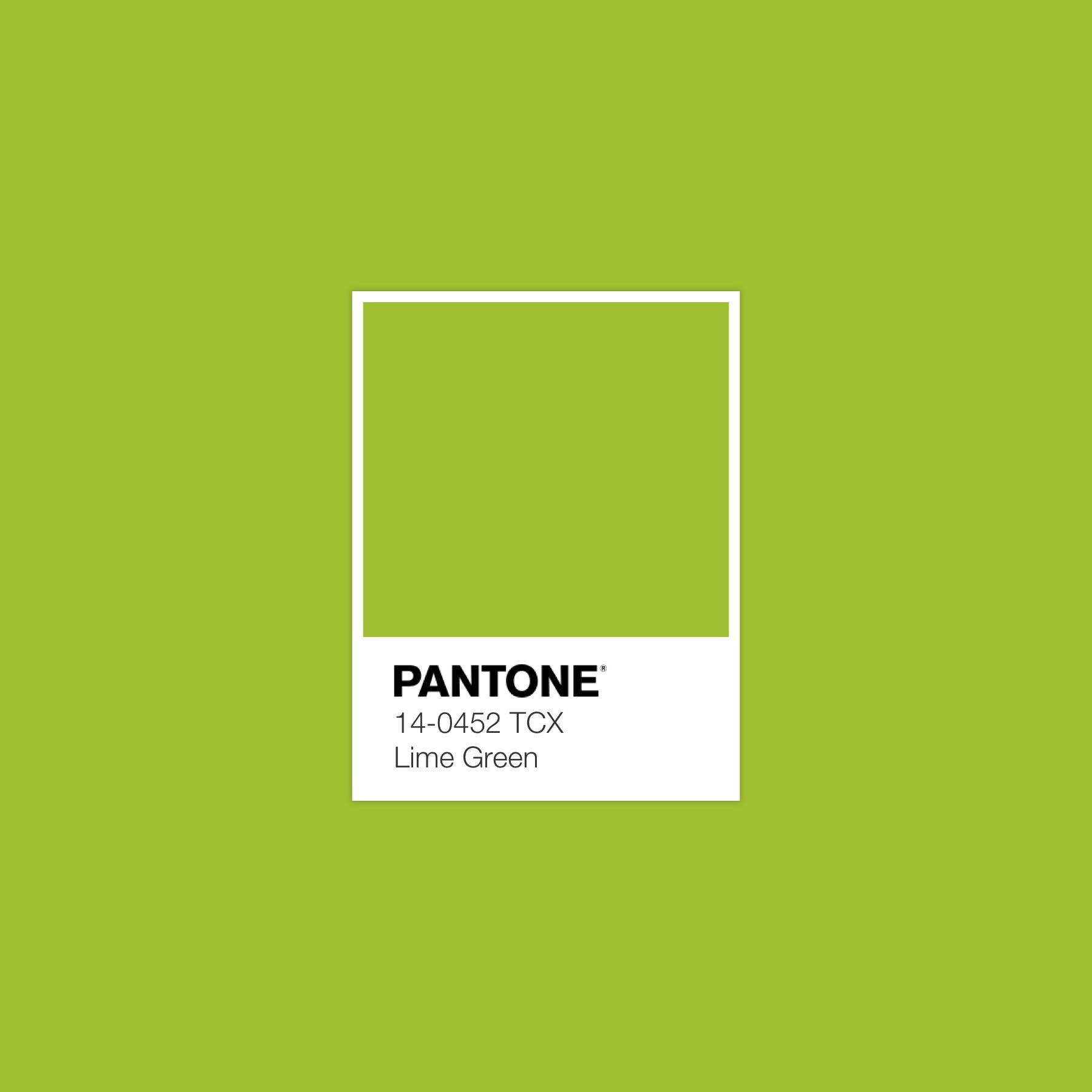 Pantone Lime Green Luxurydotcom