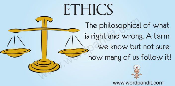 Meaning Of Ethics Ethics Meaning Of Ethics Deep Thinking