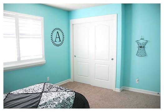 interesting tiffany blue living room ideas   Tiffany Blue Room Ideas   Autumn's Tiffany blue/black room ...