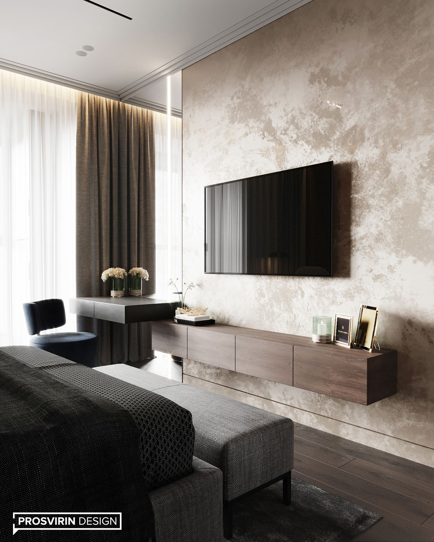 Bluet On Behance Luxurious Bedrooms Interior Design Bedroom Small Modern Bedroom Design