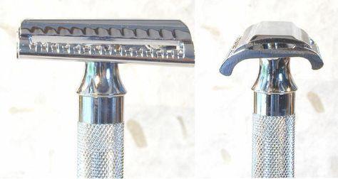 "Maquinilla de afeitar clásica Merkur ""Slant Bar"" 37C"