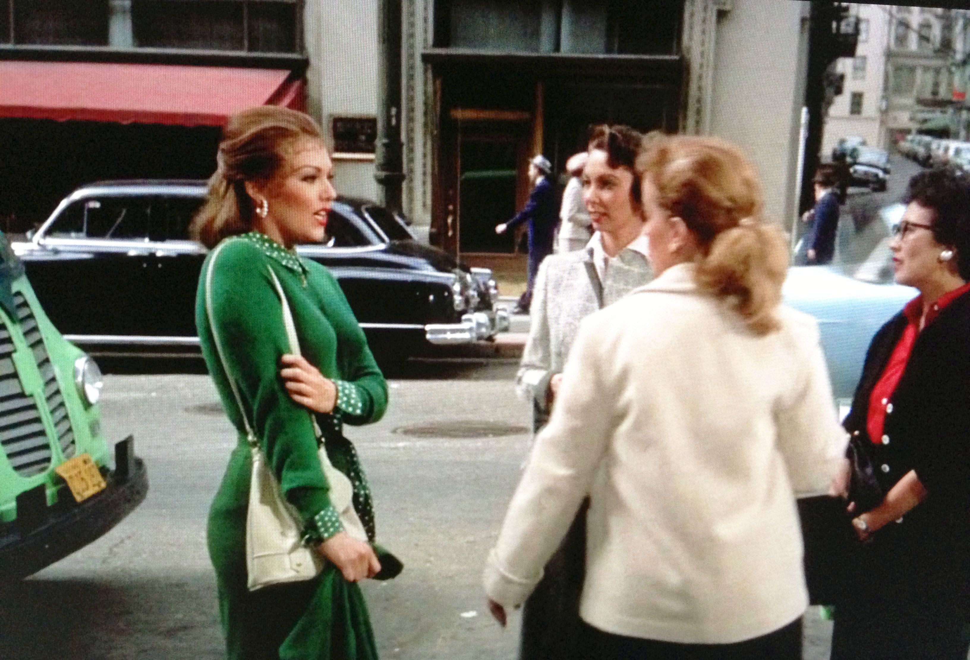 Judy in her green dress in Vertigo | Kim novak, Green dress, Kim