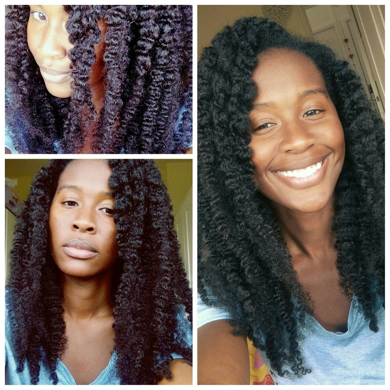 Braid Out on Blow Dried Hair   Blow dry natural hair ...