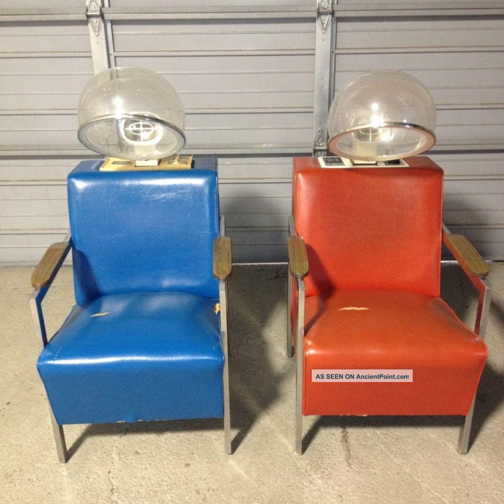 Vintage chairs Vintage hair dryer, Hair dryer chair, Chair