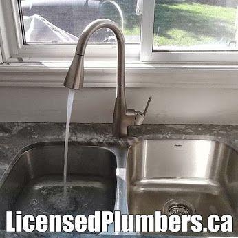 Moen Kiran spot resistant 1-handle Reflex pulldown kitchen faucet ...