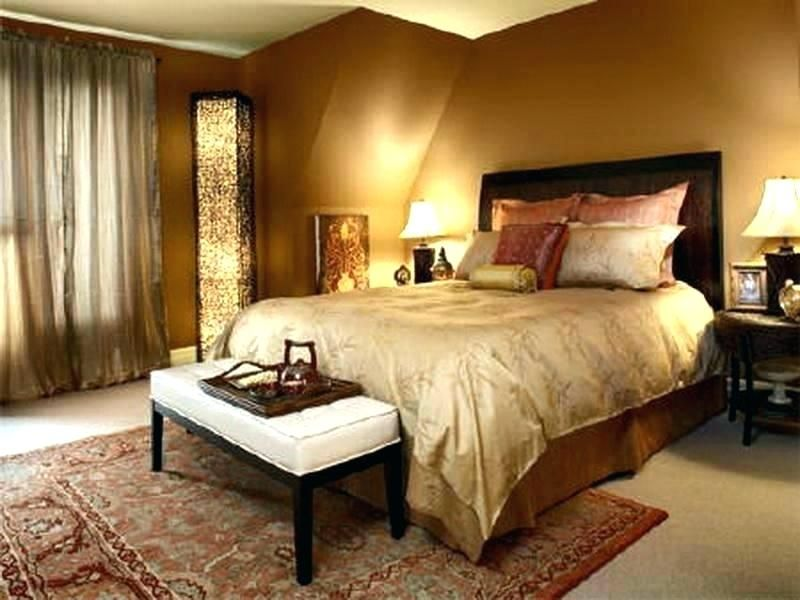 Metallic Gold Wall Paint Bedroom Color For Walls Contemporary