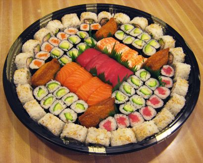 Party Platter Ideas Sushi Platters Can Be Ready In One