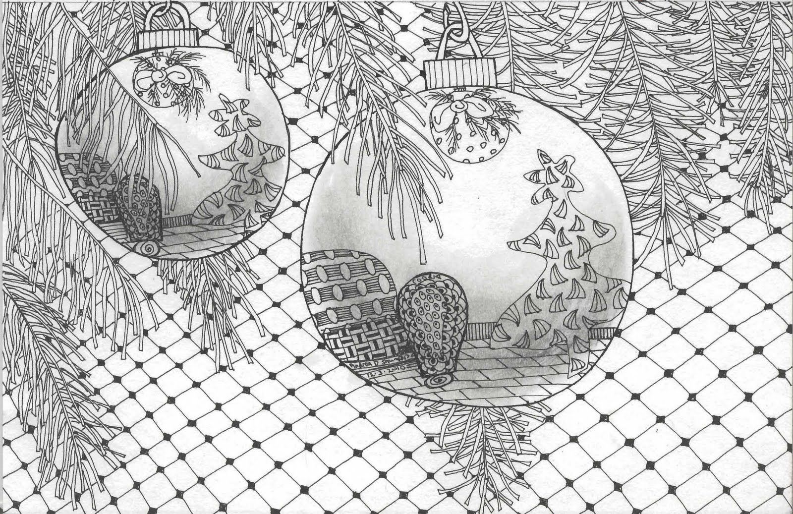 Zentangle Pattern Card to Print | Method creating your own ...