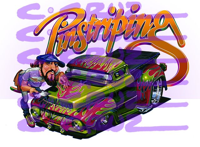 hot rod cartoon art - Google Search