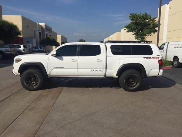 2005 - 2018 toyota tacoma toprac 5' bed | Roof racks ...