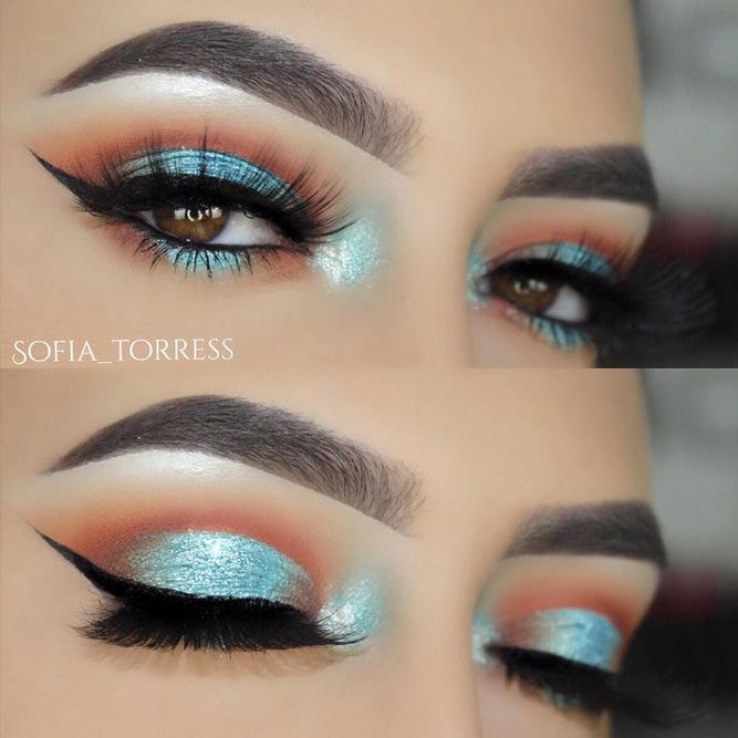 24 Ways To Enhance The Makeup For Small Eyes Makeup 21st And Eye