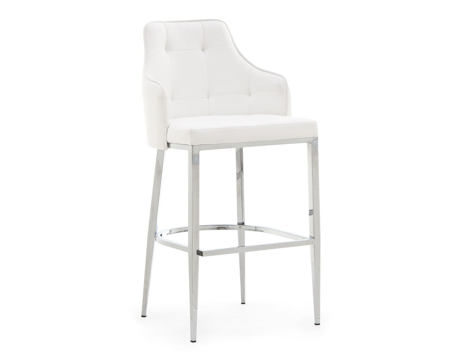 Structube Chairs Structube Dining Room Stools Chic White Kitchen