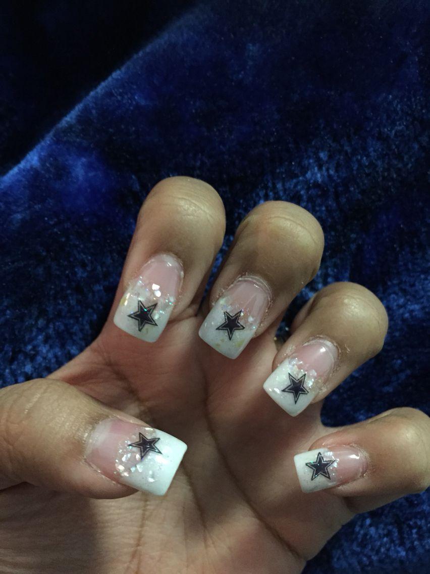 Dallas cowboys nails dallas cowboys wedding pinterest dallas dallas cowboys nails prinsesfo Image collections