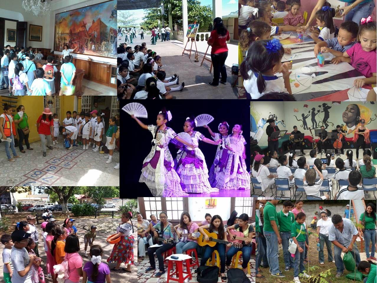 Hola, les comparto un poco de las actividades que se realizan dentro del Centro Infantil, el cual tengo la oportunidad de dirigir desde hace 2 años. =)