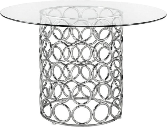 Keagan Modern Dining Table Dining Tables By Everly Quinn Ideas For Dining Tables In 2018 N Glass Top Dining Table Stainless Steel Dining Table Dining Table