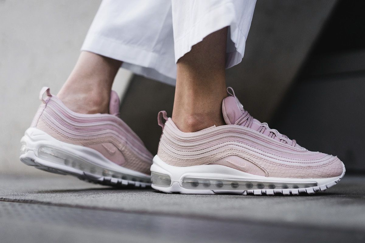 new style bb241 60ca3 Preview Nike Air Max 97 Pink Snakeskin - EU Kicks Sneaker Magazine