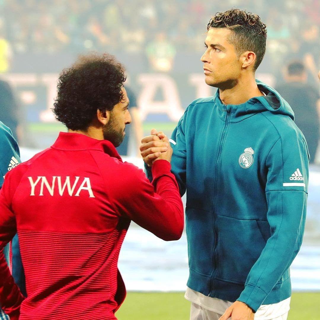 Mohamed Salah Ronaldo Football Ronaldo Cristiano Ronaldo