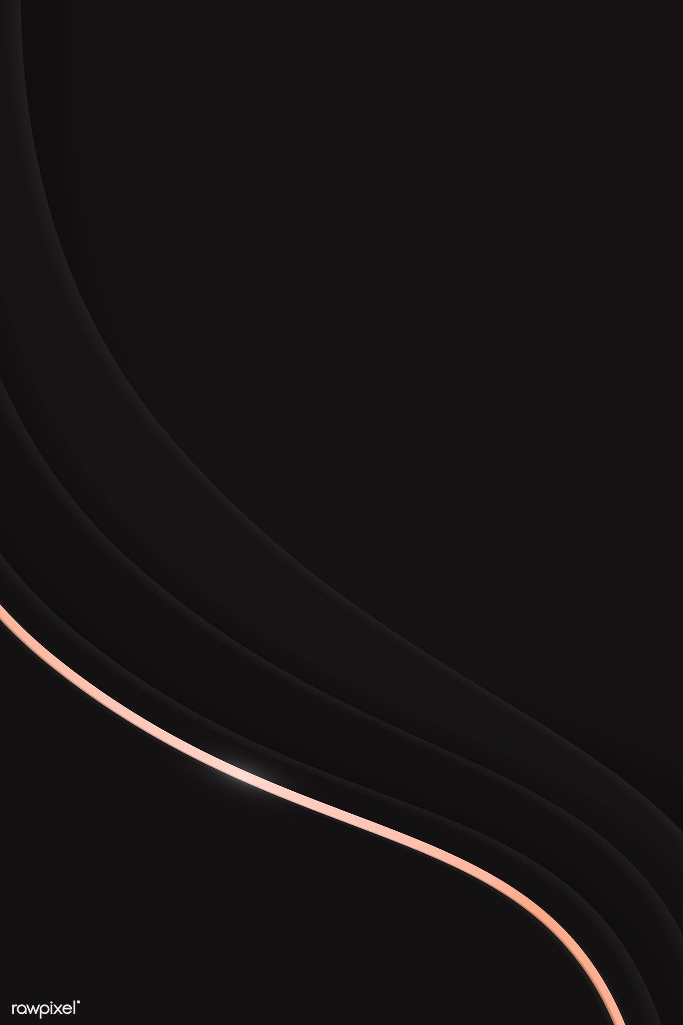 Download Premium Illustration Of Black Abstract Wavy Background
