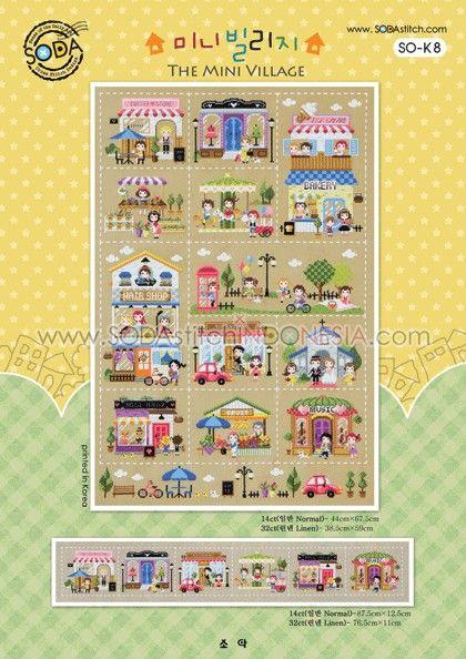 Sodastitch Indonesia SO-K8 - The Mini Village
