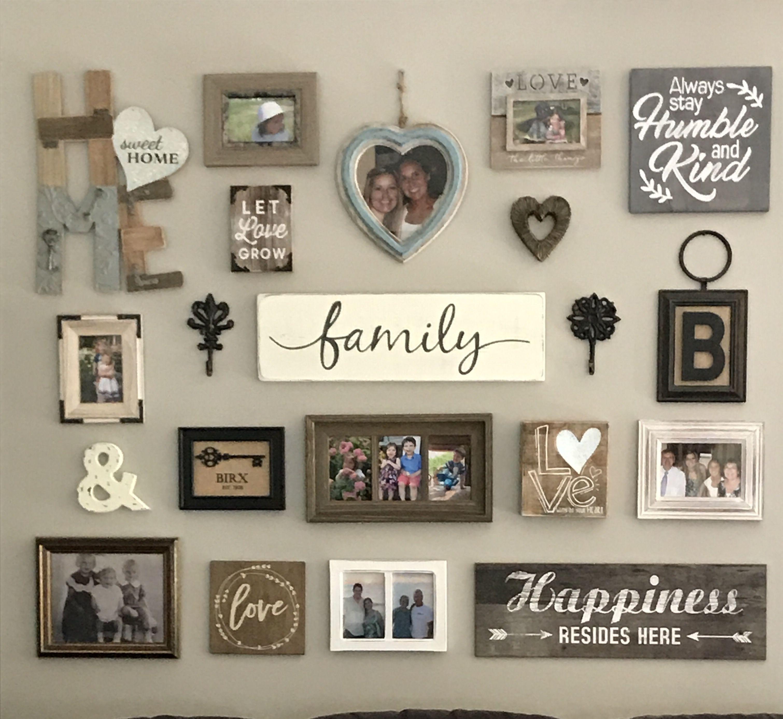 25 Unique Family Picture Wall Ideas Family Wall Decor Decor