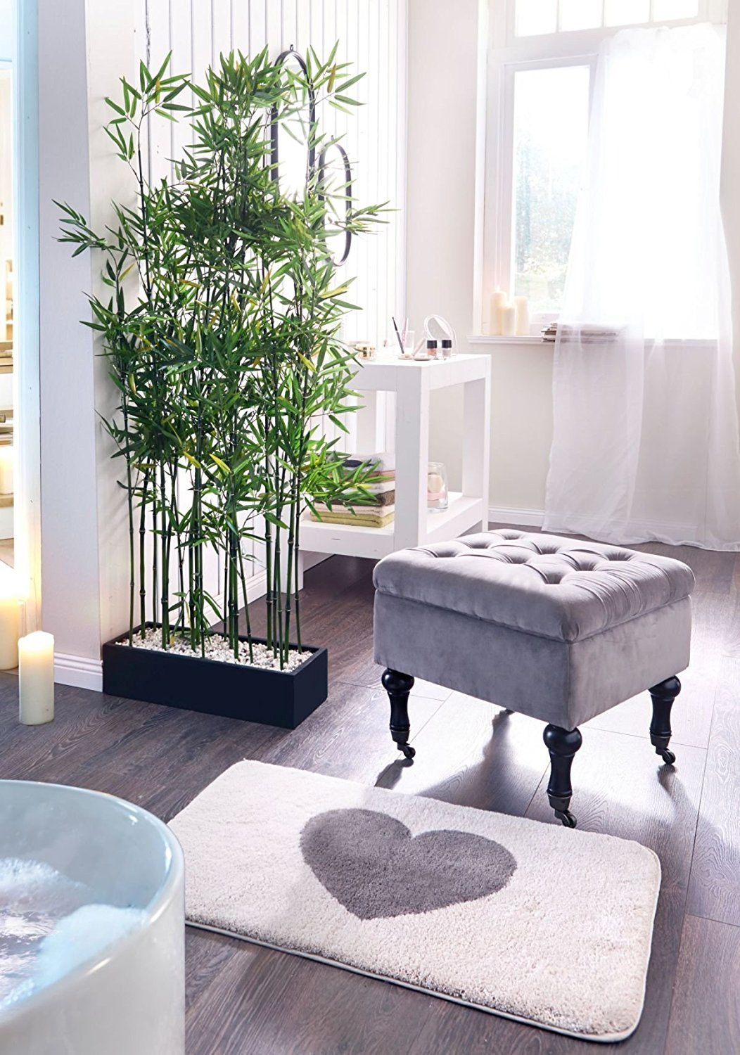 Artificial bamboo plant room divider approx cm high interior