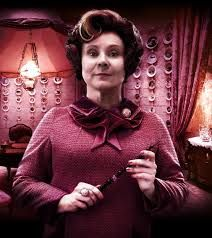 HP Challenge Day 2: Favorite Villian- Umbridge  i dont really like her in the book world but she is funny in the movie world