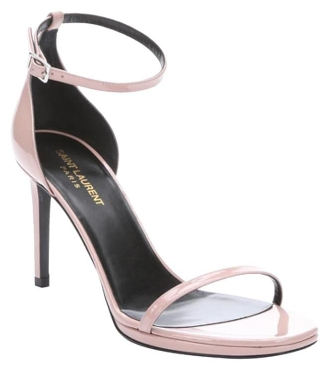 Saint Laurent Jane 80 Ankle Strap Leather Pale Pink Petal Nude Sandals. Get the must-have sandals of this season! These Saint Laurent Jane 80 Ankle Strap Leather Pale Pink Petal Nude Sandals are a top 10 member favorite on Tradesy. Save on yours before they're sold out!