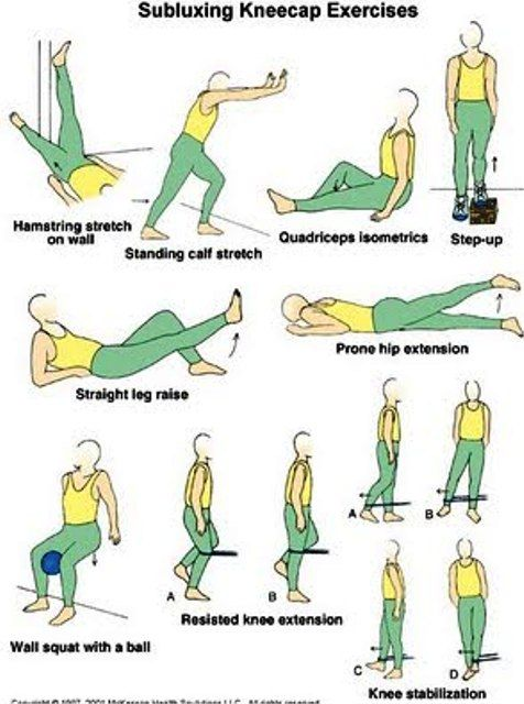 physical therapy back exercises pdf