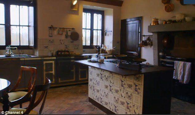 Kitchen Chateau de la Motte Husson | Chateau de la Motte Husson ...