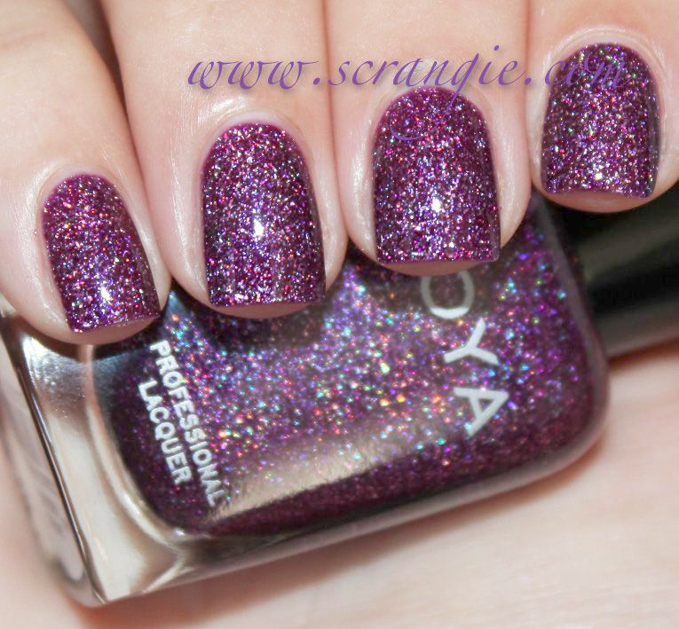 Sparkle and Co. Luxe Polish Holo Holiday Clear