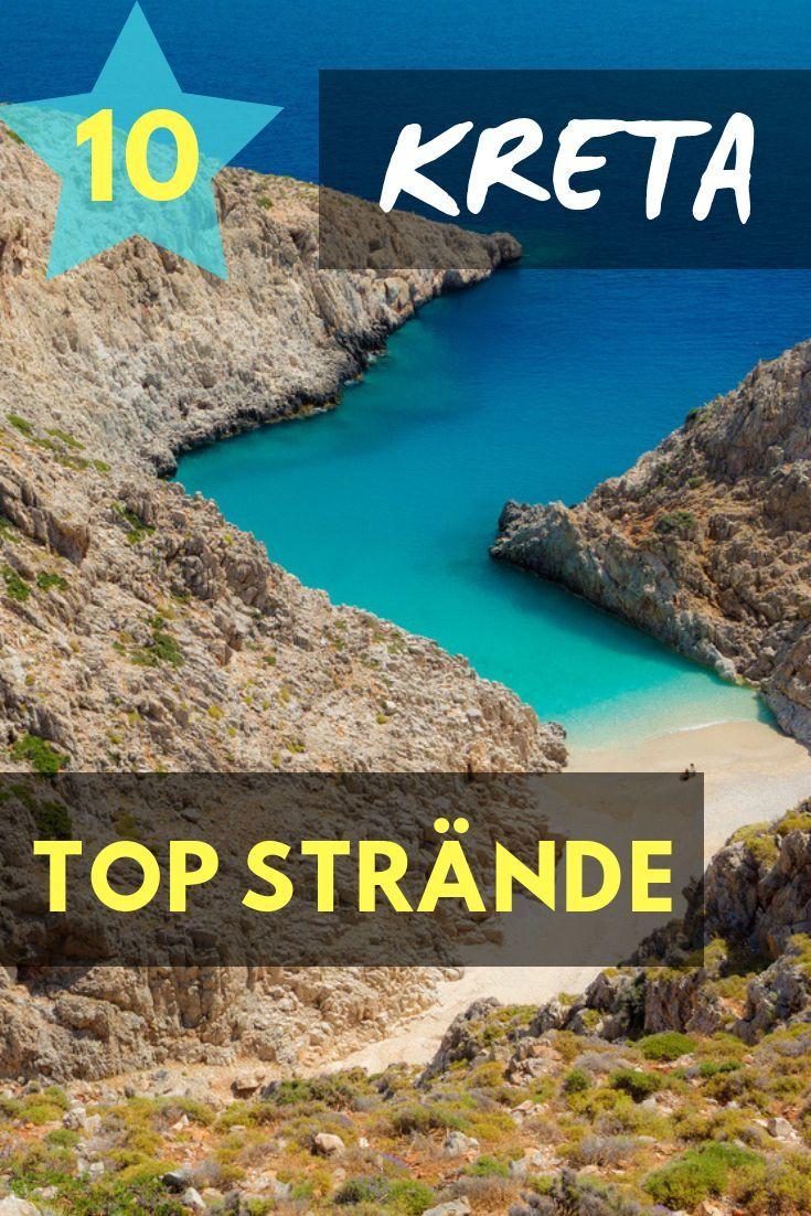 Kreta Strände - Top 10 Traumstrände + Karte & Bilder #traveltogreece
