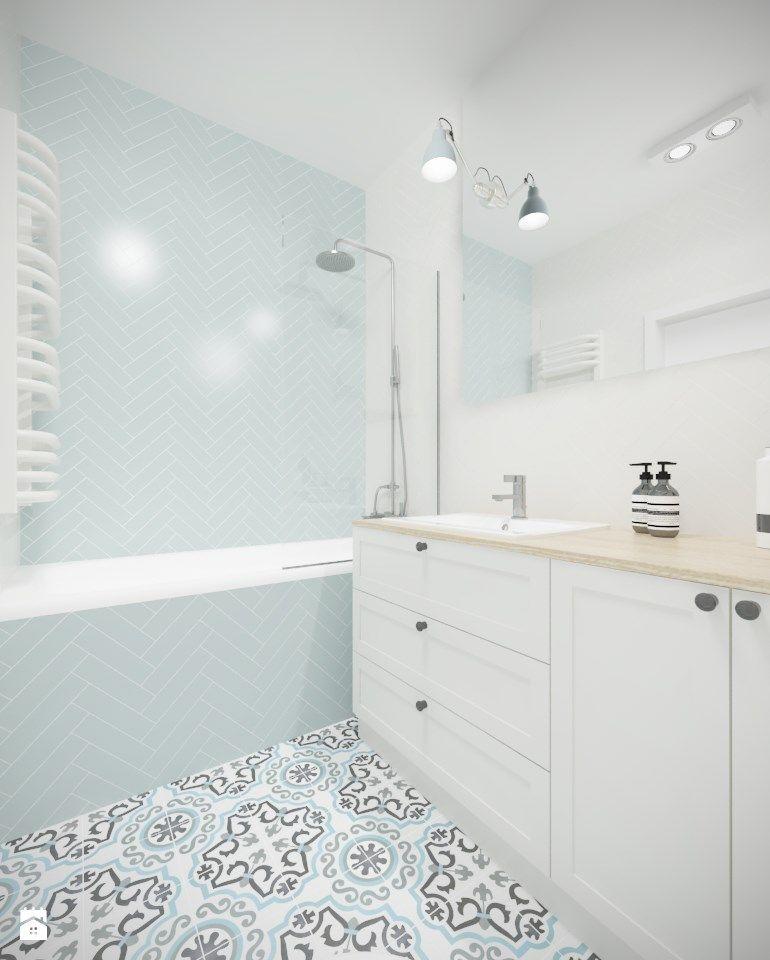 łazienka Styl Skandynawski Zdjęcie Od Studio Monocco