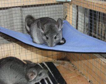 Small Fleecy Corner Pet Hammock For Chinchilla Degus Rats Small