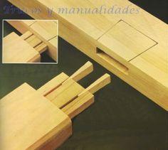 Uniones de madera -
