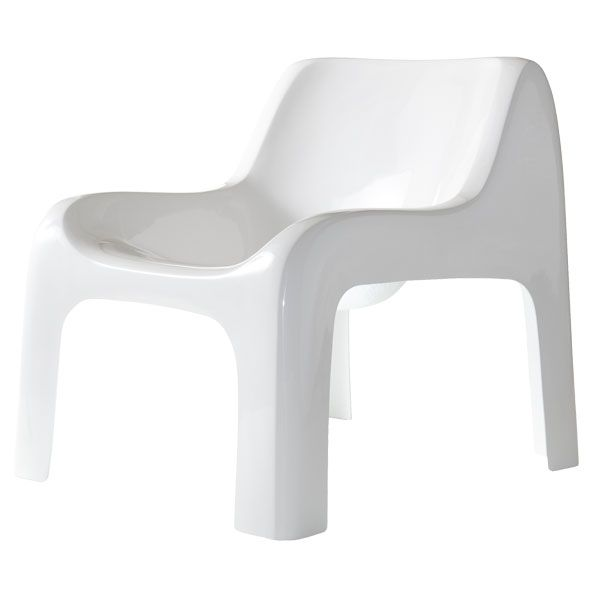 Anatomia chair, white