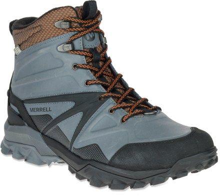 3a08e5e0d4 Merrell Men's Capra Glacial Ice Mid WP Winter Hiking Boots | Boots ...