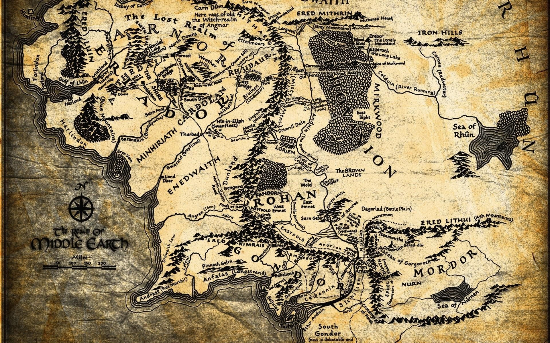 East Middle Earth Map%0A Map Of Middle Earth Wallpapers  Wallpaper Cave