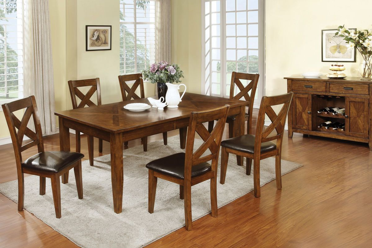 Lidia Dining Table 4 Side Chairs Side Chairs Dining Room