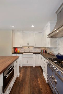 Charming Kitchen with French Flair - transitional - kitchen ...